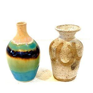 Set of 2 Mid-Century Modern Miniature Vases